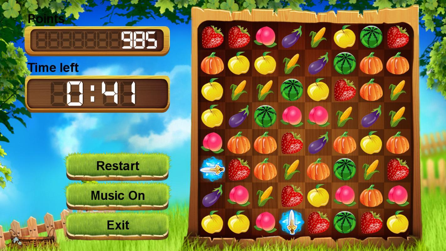 Fruit games free download -  Fruit Heroes Apk Screenshot