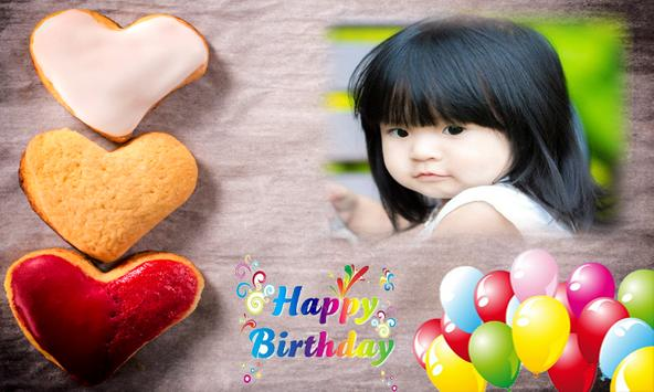 Happy birthday greeting card apk screenshot