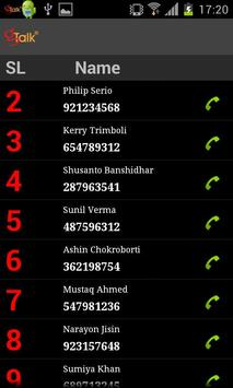 gTalk Global apk screenshot