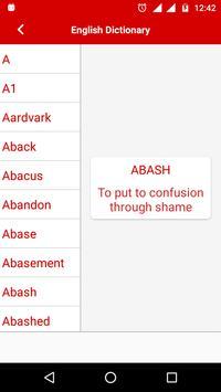 Offline English Dictionary apk screenshot