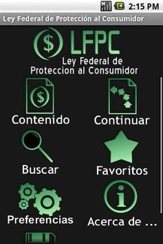 Ley Federal de Protección al C poster