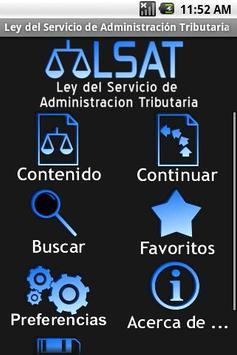 Ley del SAT poster