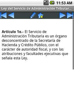 Ley del SAT apk screenshot