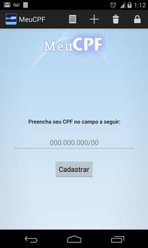 Meu CPF apk screenshot