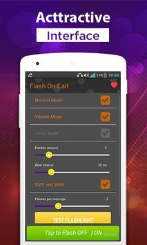 Flash on Call & SMS FlashAlert poster