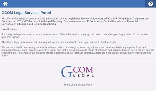 Ask a Lawyer apk screenshot