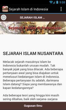 Sejarah Islam di Indonesia apk screenshot