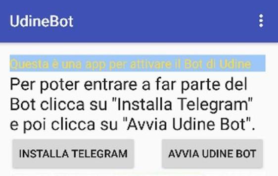 Udine Bot apk screenshot
