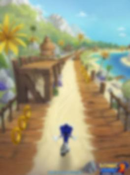 guide for sonic  dash  2016 poster