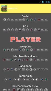 codes pour GTA San Andreas poster