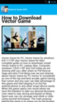 guide vector 2 apk screenshot