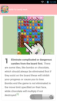 guide candy crash apk screenshot
