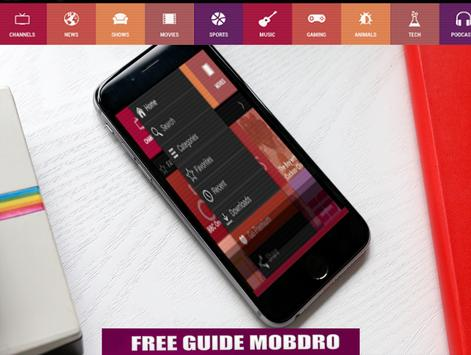 app mobdro free guide poster