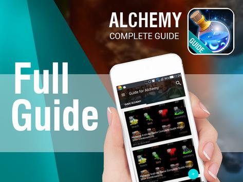 Alchemy Cheats apk screenshot