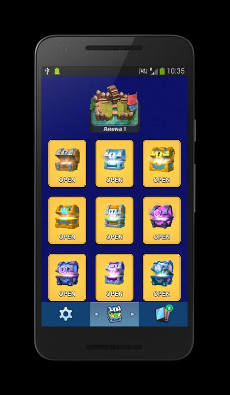 Chest Simulator Clash Royale APK Download - Free Entertainment APP for ...