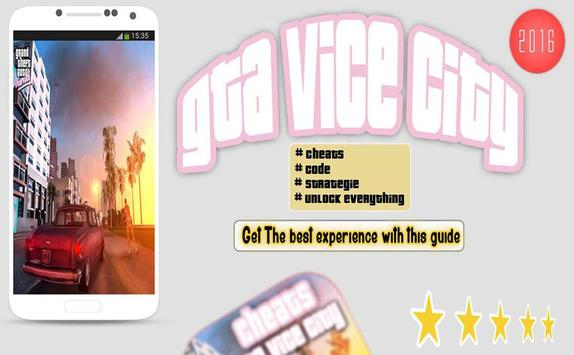 Cheat mods for GTA Vice City poster