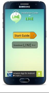 Guide for LINE poster