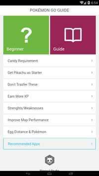 Guide for Pokemon Go - New apk screenshot