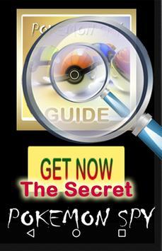 Guide Poke Spy for NEW Pokemon apk screenshot