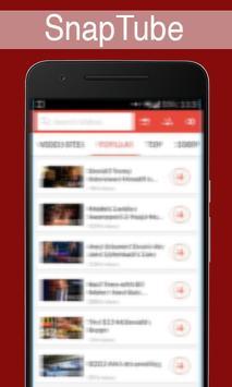 Snaptube Downloader Guide 2016 apk screenshot