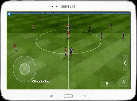 Guide Dream League Socer 16/17 apk screenshot