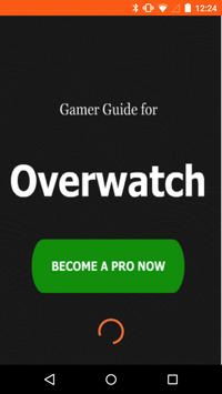 Gamer Guide for Overwatch poster