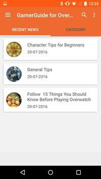Gamer Guide for Overwatch apk screenshot