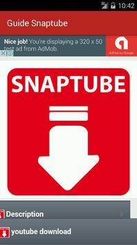 Guide snaptube apk screenshot