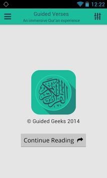 Quran - Guided Verses poster