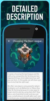 Cheat Guide for Clash of Clans apk screenshot