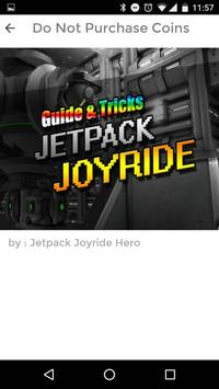 GUIDE JETPACK JOYRIDE TRICKS apk screenshot