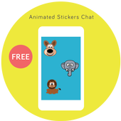 Animated Stickers Chat Advise icon