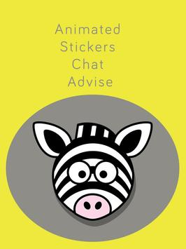 Animated Stickers Chat Advise apk screenshot
