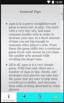 Guide for Agar.io apk screenshot