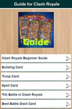 Best Guide for Clash Royale apk screenshot