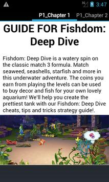 Guide for Fishdom Deep Dive poster