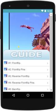 Guide for Flip Diving - Tips poster