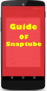 Guide Of Snaptube apk screenshot