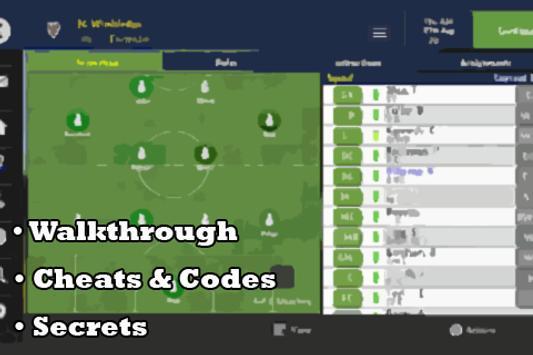 Guide to Football Manager 2016 apk screenshot