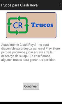 Trucos Clash Royale apk screenshot