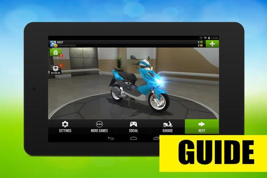 Guide for Traffic Rider: Tips poster