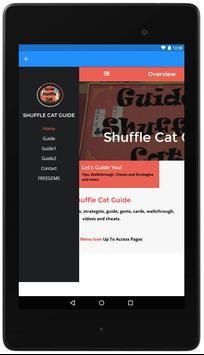Guide For Shuffle Cat apk screenshot