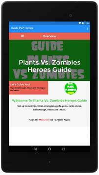 Guide For PvZ Heroes poster