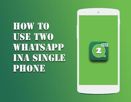Dual WhatsApp gp Pro poster