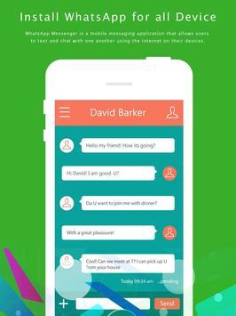 Best Guide Whatsapp Messenger apk screenshot