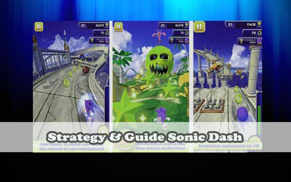 Guide SoniC Dash FREE poster