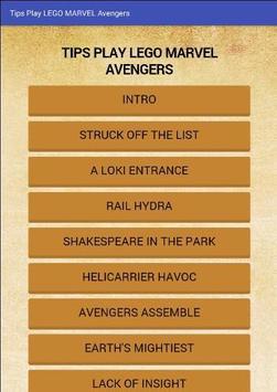 Guide LEGO Marvel Superheroes apk screenshot