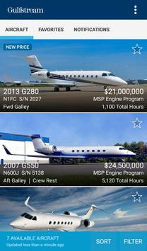 Gulfstream Pre-Owned Aircraft poster