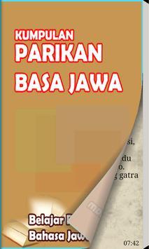 Parikan Basa Jawa poster