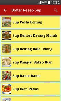 Resep Sup Lezat apk screenshot